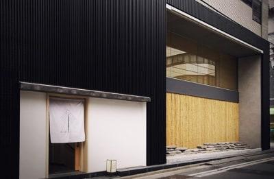 人形町駅A6出口からすぐ白い暖簾が目印です。 - hotelzentokyo ワーキングブース #1の外観の写真