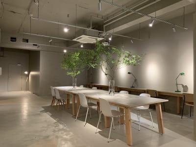 GOODOFFICE品川 貸切スペース(ラウンジ)の室内の写真