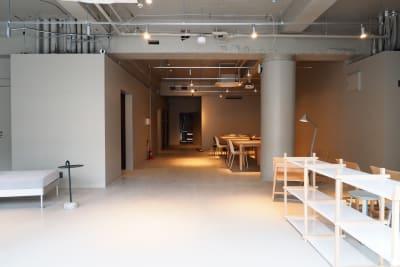 GOODOFFICE品川 貸切スペース(屋上テラス)の入口の写真