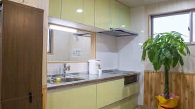 共用キッチン - 流山国際研修センター テレワークスペース2の設備の写真
