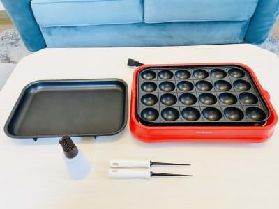 たこ焼き器(有料オプション) - SMILE+ViVi梅田 レンタルスペース、パーティルームの設備の写真
