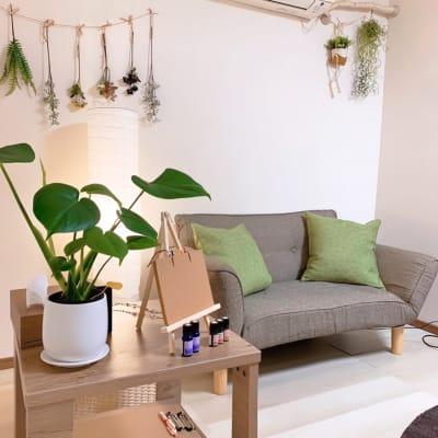 Wi-Fi完備!!北欧風のおしゃれなお部屋です✨ - シェアサロンファースト(北欧) レンタルサロン(北欧風)の室内の写真