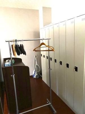 着替えスペース ロッカー - Studio KEOLA レンタルスタジオの設備の写真
