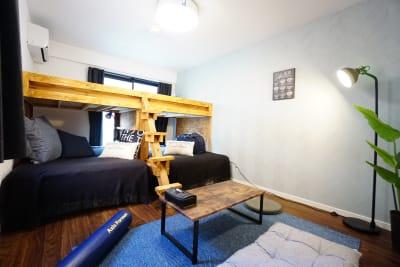 Asakusa Sky Stay テラハスペース(女子&男子部屋)の室内の写真