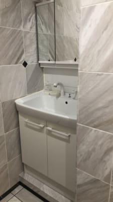 洗面台  - 貸スペースゴールド ゴールドの設備の写真