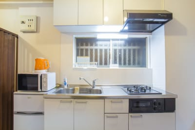 キッチン - マルチレンタルハウスライフハウス マルチレンタルの室内の写真