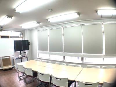 大型TVモニター、ホワイトボード設置 - アーバンスペース雷門の室内の写真