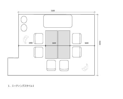 LMスペース八丁堀の室内の写真