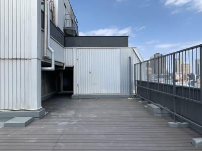 GOODOFFICE品川 貸切スペース(屋上テラス)の室内の写真