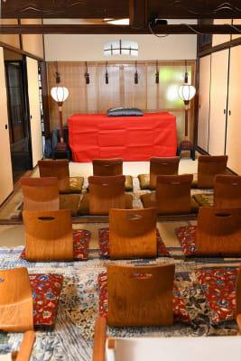 落語会のセッティング - Udatsuya (うだつや) うだつや本館のその他の写真