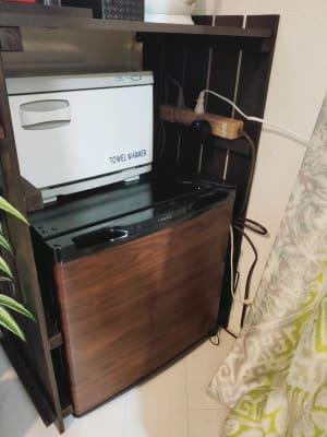 ホットキャビン、冷蔵庫お使い頂けます♪ - hawreaa レンタルサロン、レンタルスペースの設備の写真