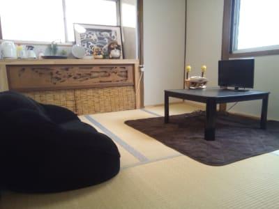 ゲストハウス オアシス 定員4名の和室部屋の室内の写真