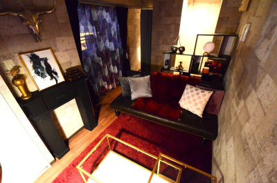 🉐LUX新宿🍷エステ/撮影 👾50型TVの室内の写真