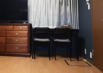 机、テレビも使えます。 - 宮町貸し会議室 貸し会議室・テレワークスペースの室内の写真