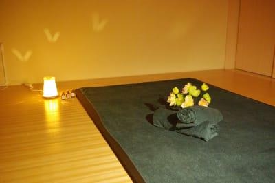 マッサージマット無料 - レンタルサロン(ルームB)の室内の写真