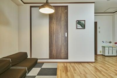 個室も利用できます。 - 今日都ゲストハウス レンタルスペースの室内の写真