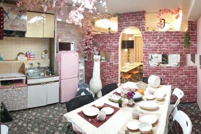 大久保通り沿いスペース 女子に大人気のコリアンタウンの室内の写真