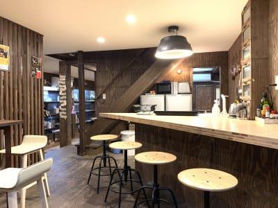 キッチンを使ってお茶を淹れることは可能です。 - 龍造寺Lab.造 個室の設備の写真