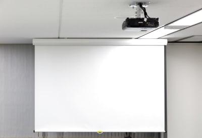 スクリーン - 全特六本木ビル セミナールームB+Cの設備の写真