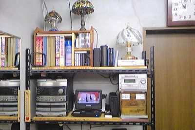 【京都伏見】Johnny 貸しスタジオ 防音個室スタジオの室内の写真