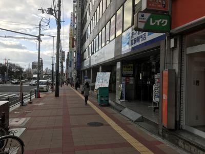貸会議室 リンク大阪 ルームAの入口の写真
