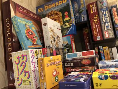 ゲームボード - ZeyoQ新宿歌舞伎町店 カフェバー、ゲームボードスペースの室内の写真