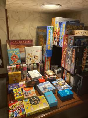 ゲーム類 - ZeyoQ新宿歌舞伎町店 カフェバー、ゲームボードスペースの設備の写真