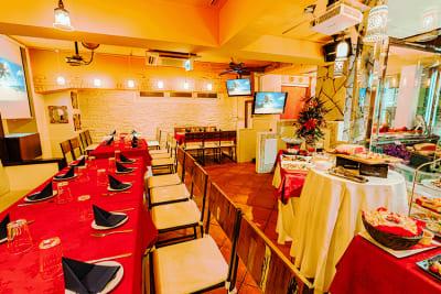 各種宴会やパーティーOK - パセラリゾーツ六本木 貸切スペース ロスカボスの室内の写真