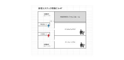 4F間取図 - レンタルスペースアゴラ新宿西口 多目的スペースのその他の写真