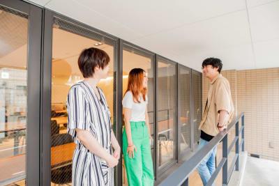 テラスあり - ACTBE Horieイベント貸 レンタルスペースの設備の写真