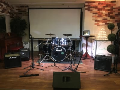 GREEN LOUNGE イベントスペースの設備の写真
