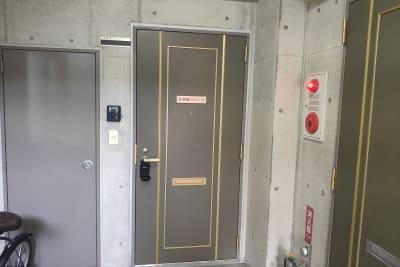 お気軽スペース パークサイド パークサイド天文館の入口の写真