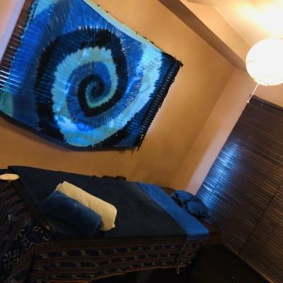 使用例 - バリ風サロン・アルバローザ シェアサロン、スペースの室内の写真