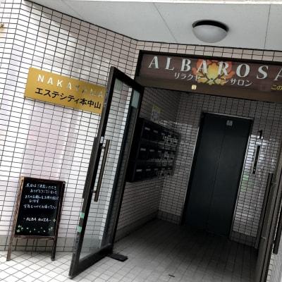 エレベータ入り口 - バリ風サロン・アルバローザ シェアサロン、スペースの外観の写真