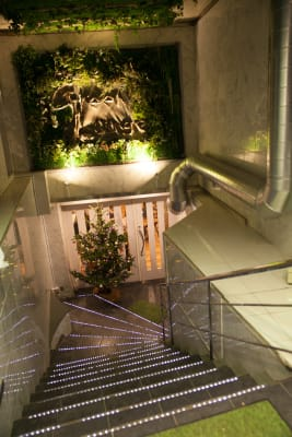 GREEN LOUNGE イベントスペースの入口の写真