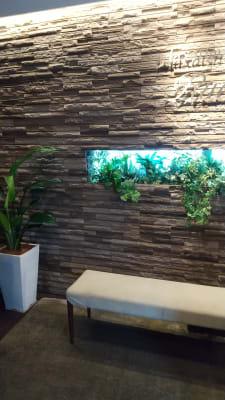 フロントの雰囲気 - 銀座リラクゼーションサロンルアン 女性限定の出入口カーテン個室!の設備の写真