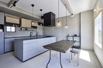 SHAREs 製造許可付キッチン シェアキッチン の室内の写真