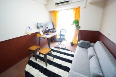 【天満橋ミニマルオフィス】 天満橋ミニマルオフィス301の室内の写真