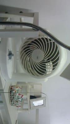 かわいい扇風機も - 新宿44ビル内44サロングループ 44ネイルステーション1H500の室内の写真