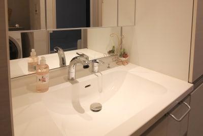 洗面所 - CocoConne 福岡西新2 キッチン付完全貸切個室 はなれ2の室内の写真
