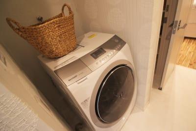 洗濯乾燥機 - CocoConne 福岡西新2 キッチン付完全貸切個室 はなれ2の室内の写真