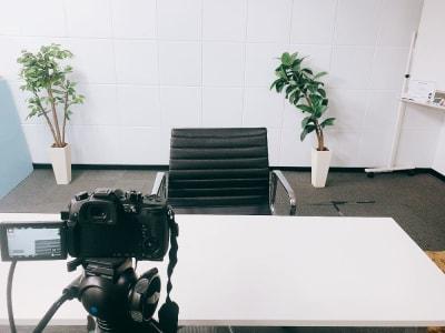 セミナー動画の撮影にも☆ - 【新宿】知恵の場オフィス 別館 駅近徒歩7分 貸し撮影スタジオ!の室内の写真
