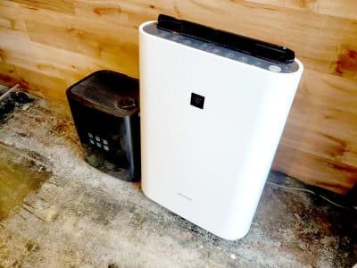 空気清浄機・加湿器 - マイトランク 渋谷 多目的スペースの設備の写真