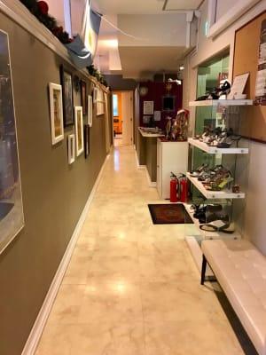 スタジオ入り口の通路 - スタジオ【タンゴソル日本橋】 タンゴソル日本橋1スタジオの室内の写真