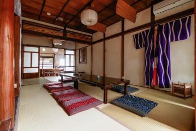 大阪ゲストハウス緑家 ゲストハウス緑家/1階和室の室内の写真