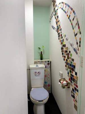 トイレ - Espacio(エスパシオ) おしゃれなコワーキングスペースの室内の写真