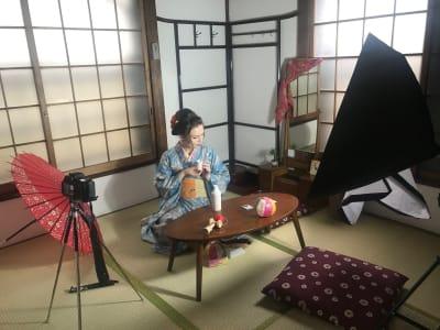 SP215 ASAKUSA SP215 和室 スタジオの室内の写真