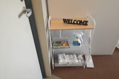 除菌・消臭・掃除セット - お気軽スペース ロイヤルシティ ロイヤルシティ中州の設備の写真