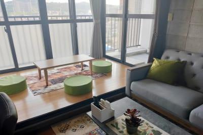 座敷スペースの利用も可能 - お気軽スペース ロイヤルシティ ロイヤルシティ中州の室内の写真