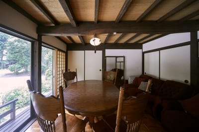 洋室8畳 - 甘糟屋敷 庭園付き日本建築の室内の写真